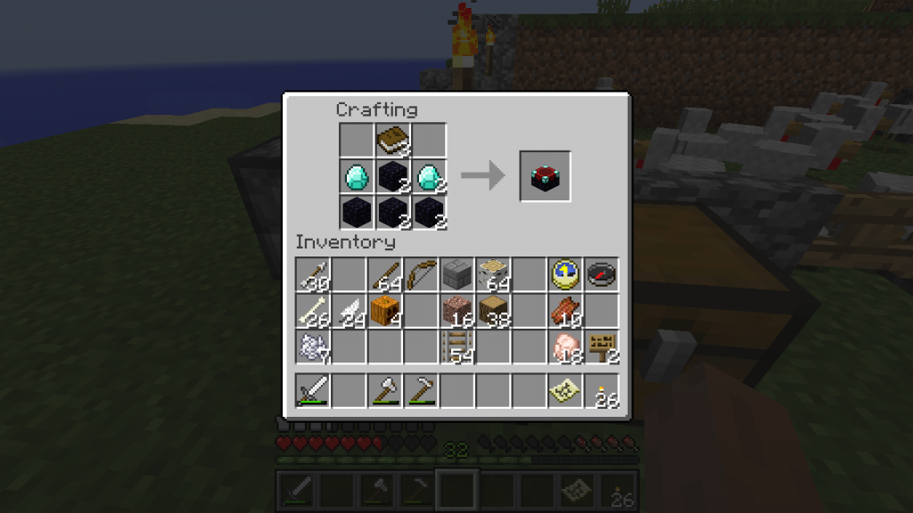 Made enchantment table